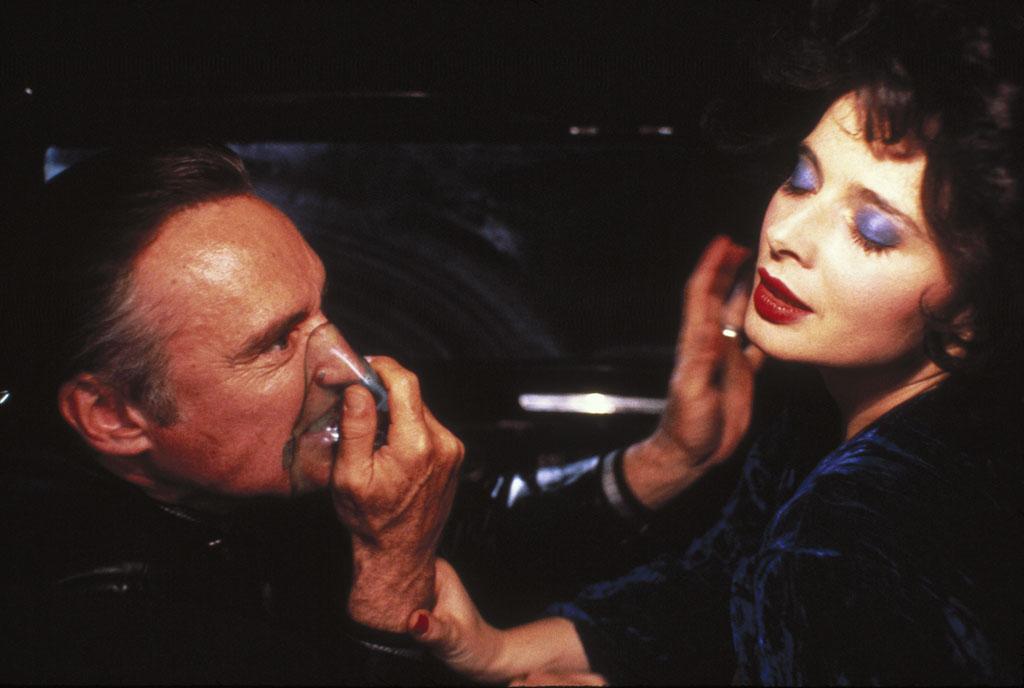 Isabella Rossellini, Dennis Hopper dans Blue Velvet