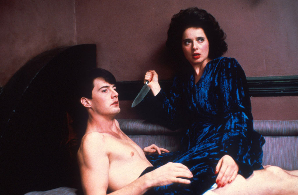 Isabella Rossellini, Kyle MacLachlan dans Blue Velvet