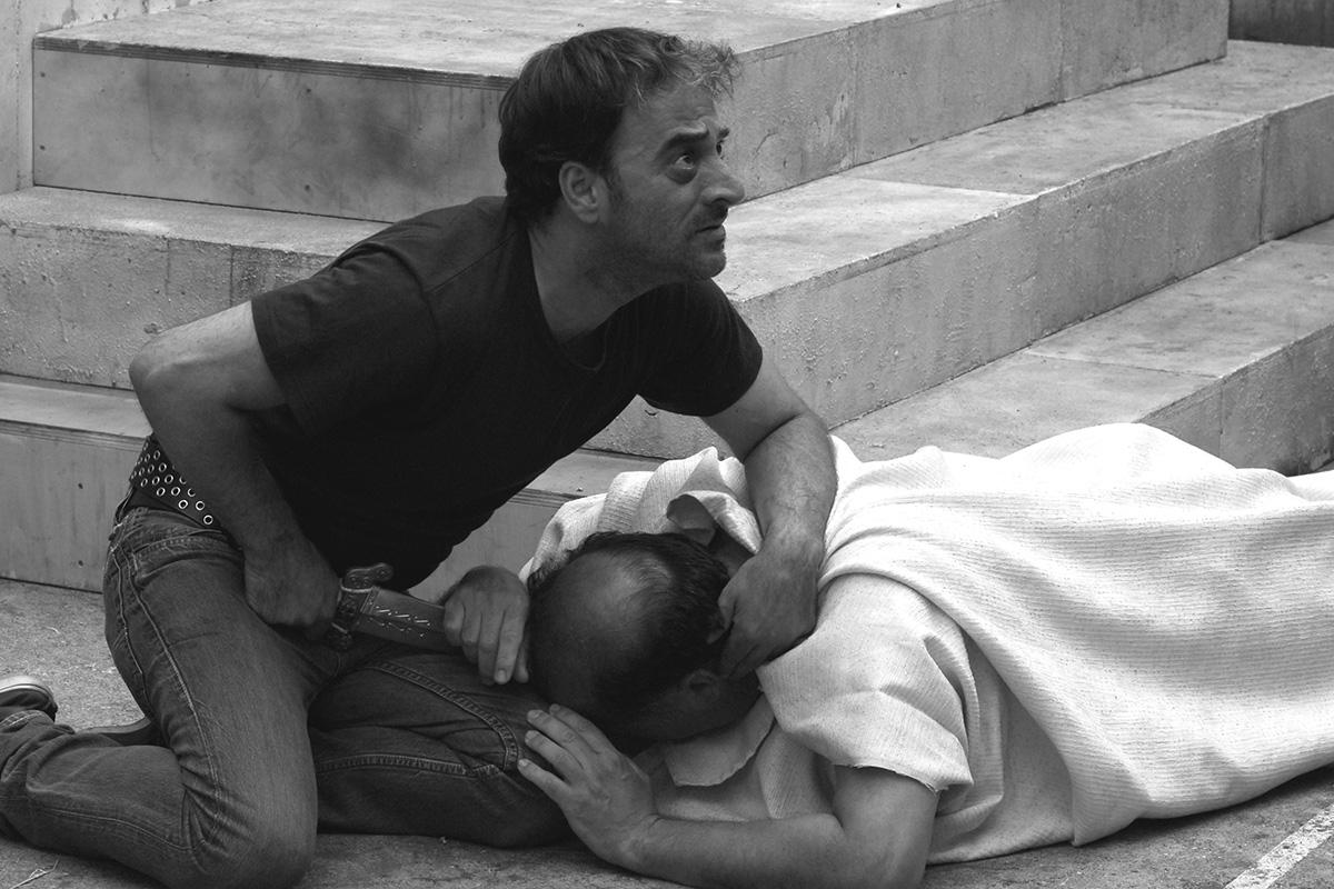 Giovanni Arcuri , Salvatore Striano dans César doit mourir