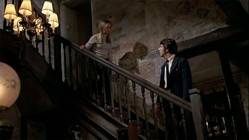 Dustin Hoffman, Susan George dans Chiens de paille