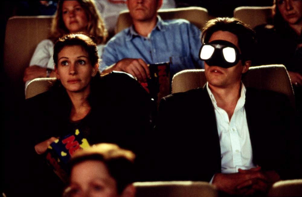 Julia Roberts, Hugh Grant dans Coup de foudre à Notting Hill