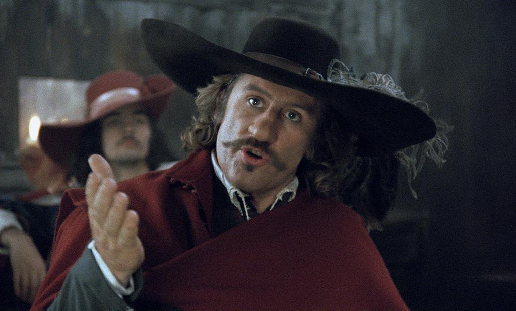 Gérard Depardieu dans Cyrano de Bergerac