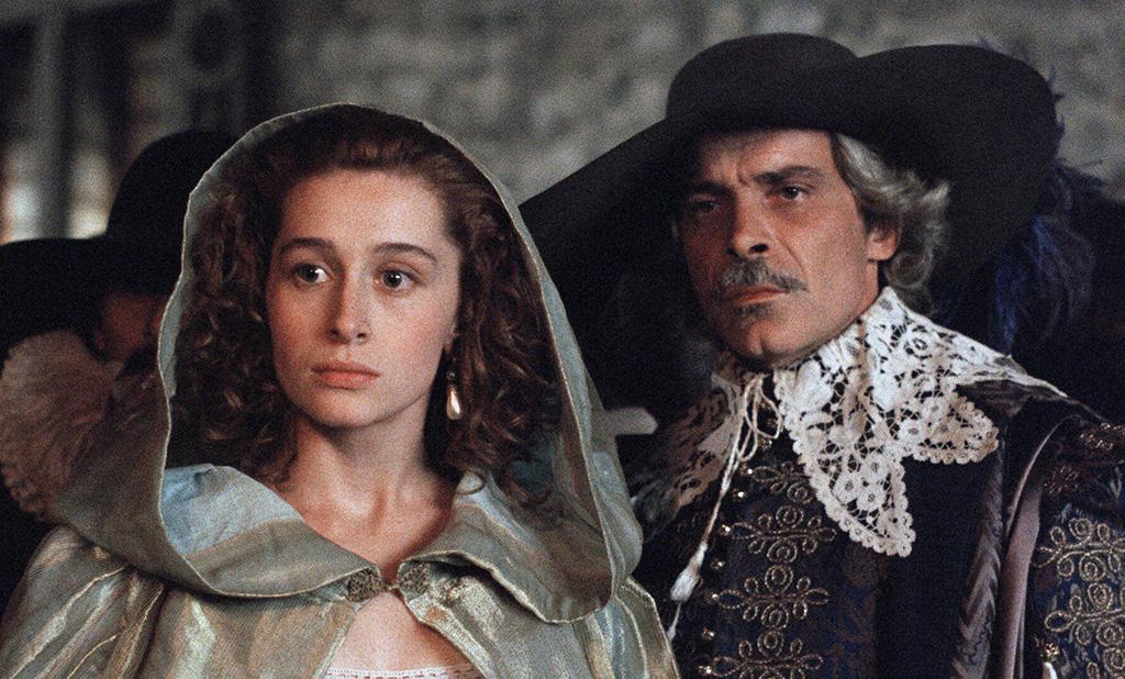 Anne Brochet, Jacques Weber dans Cyrano de Bergerac