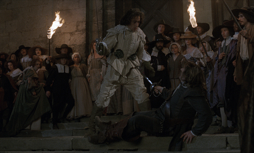 Philippe Volter, Gérard Depardieu dans Cyrano de Bergerac