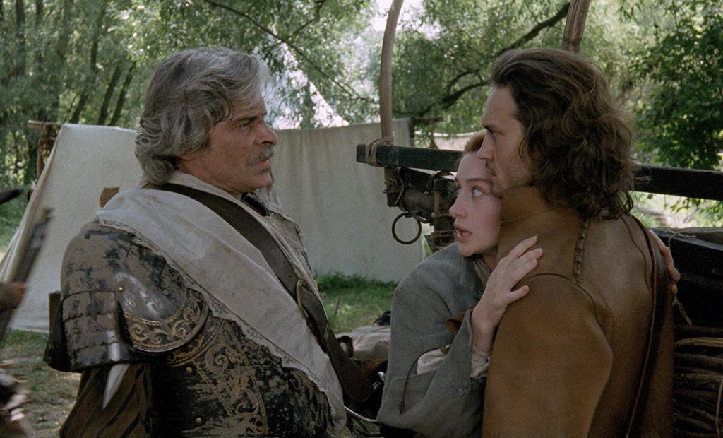 Jacques Weber, Anne Brochet, Vincent Perez dans Cyrano de Bergerac