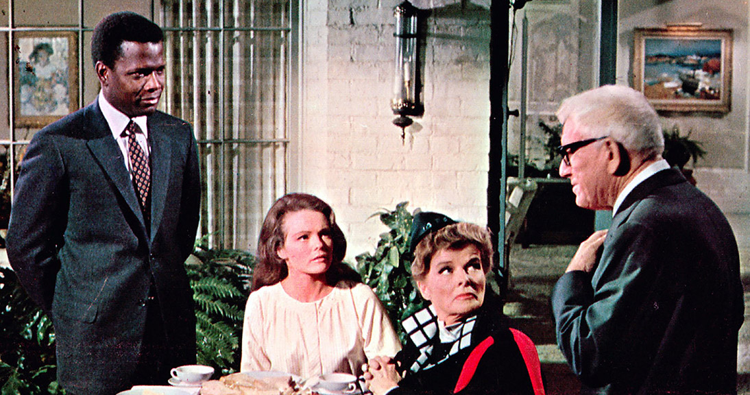 Spencer Tracy, Sidney Poitier, Katharine, Houghton, Katharine Hepburn