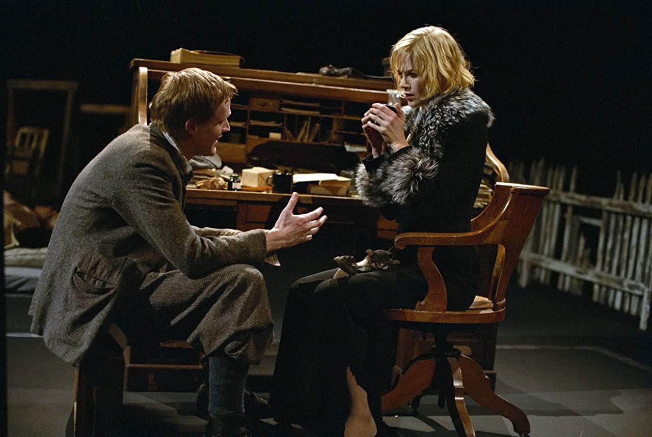 Paul Bettany, Nicole Kidman dans Dogville
