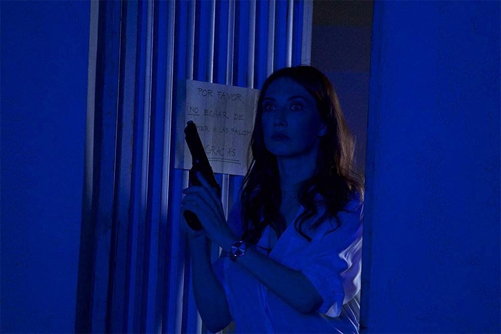 Carice Van Houten dans Domino