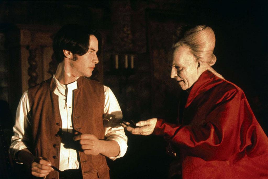 Keanu Reeves, Gary Oldman dans Dracula