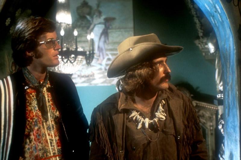 Dennis Hopper, Jack Nicholson, Peter Fonda dans Easy Rider