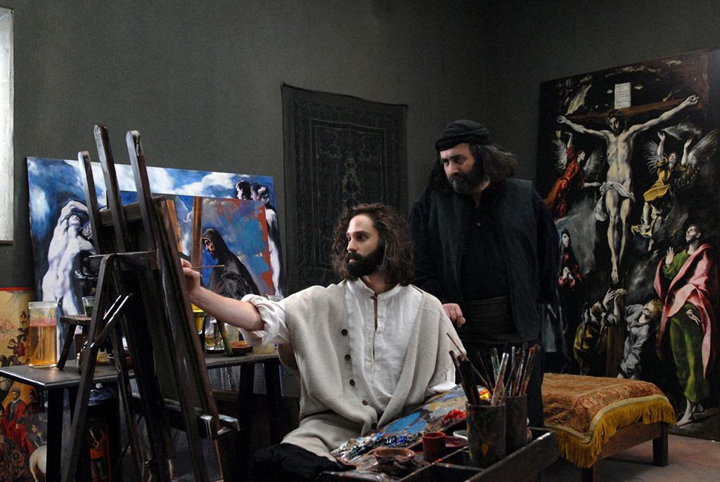 Juan Diego Botto, Nick Clark Windo dans El Greco, les ténèbres contre la lumière