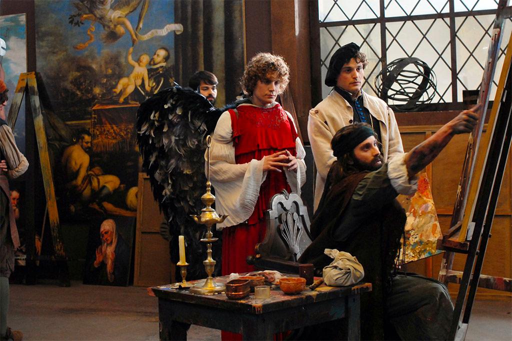 Nick Clark Windo dans El Greco, les ténèbres contre la lumière