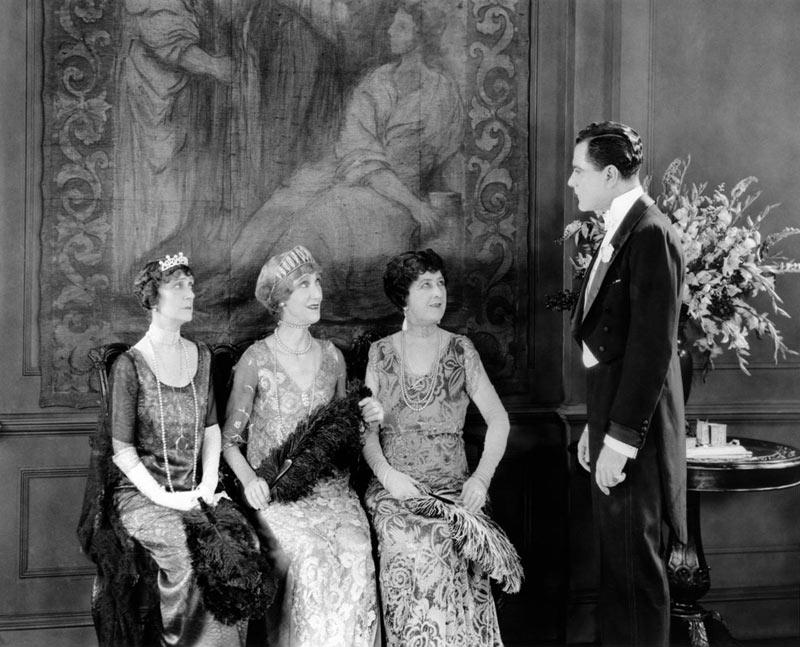 Bert Lytell dans L'éventail de Lady Windermere