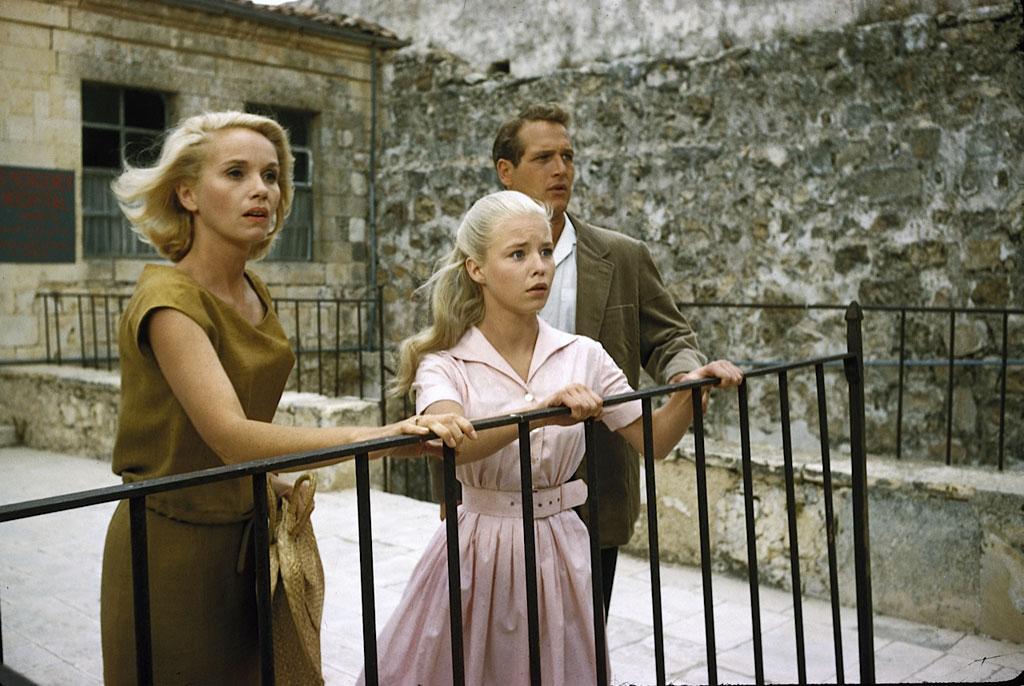 Eva Marie-Saint, Jill Haworth, Paul Newman dans Exodus