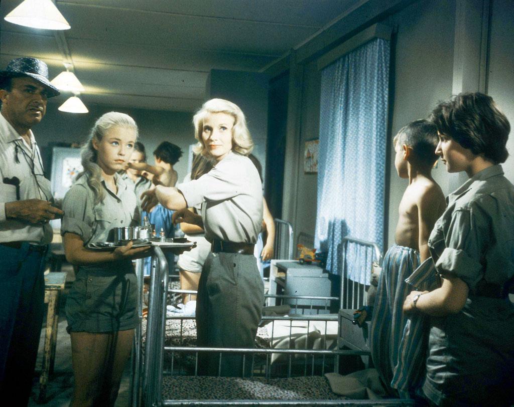 Eva Marie-Saint, Jill Haworth dans Exodus