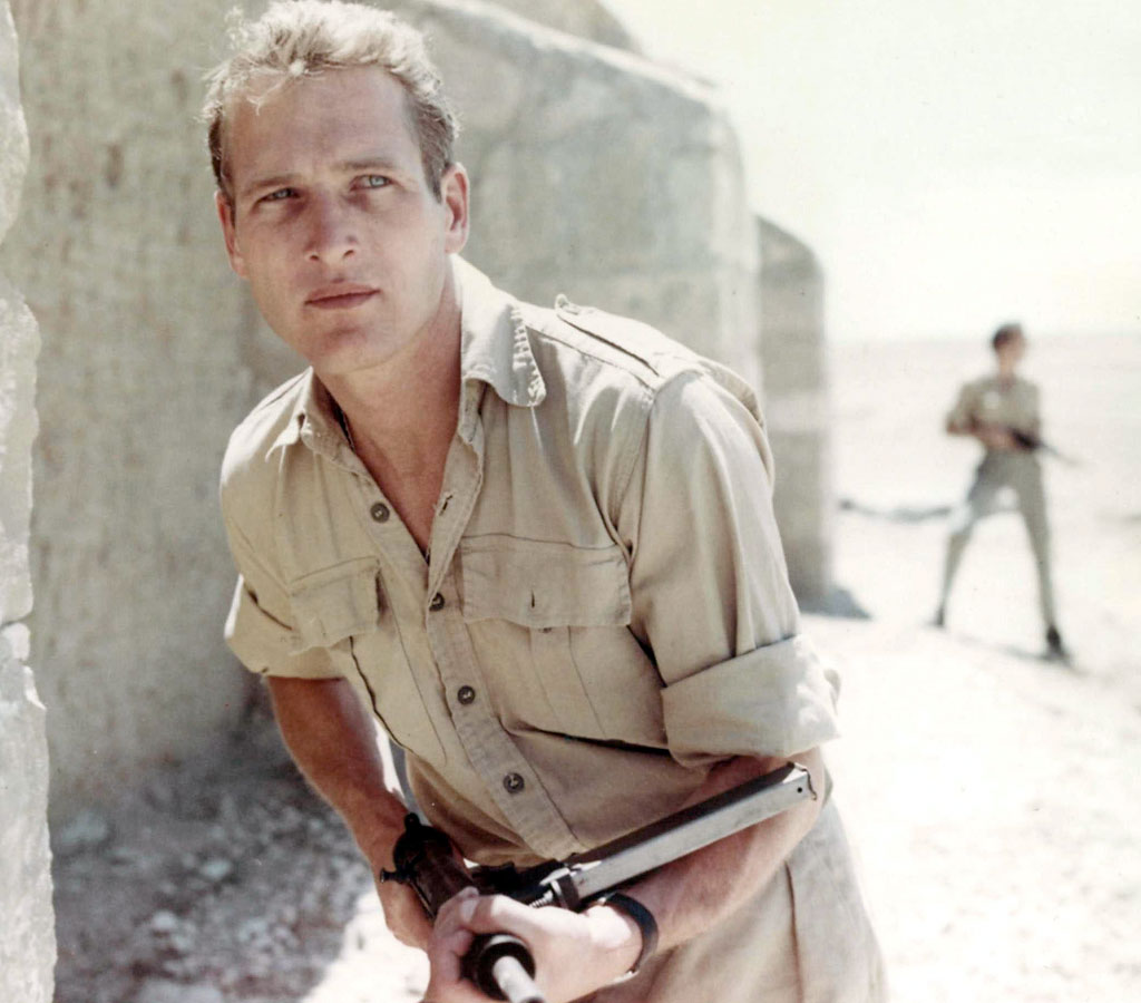 Paul Newman dans Exodus