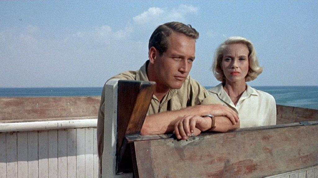 Eva Marie-Saint, Paul Newman dans Exodus