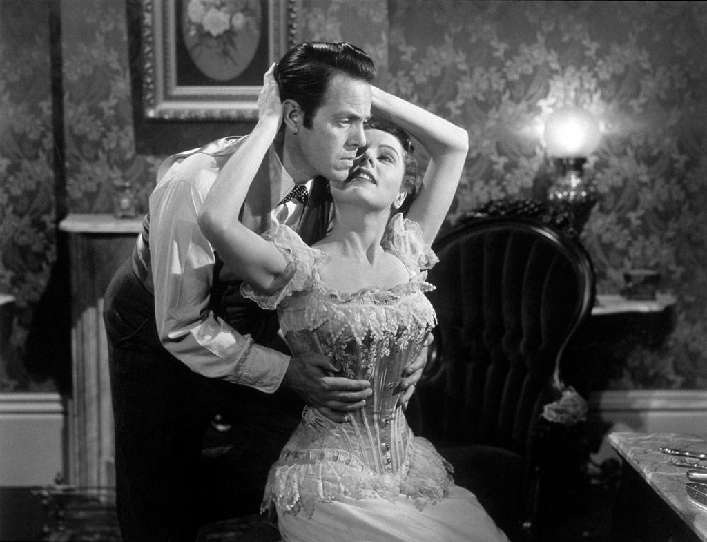 Louis Hayward, Jane Wyatt dans House by the river
