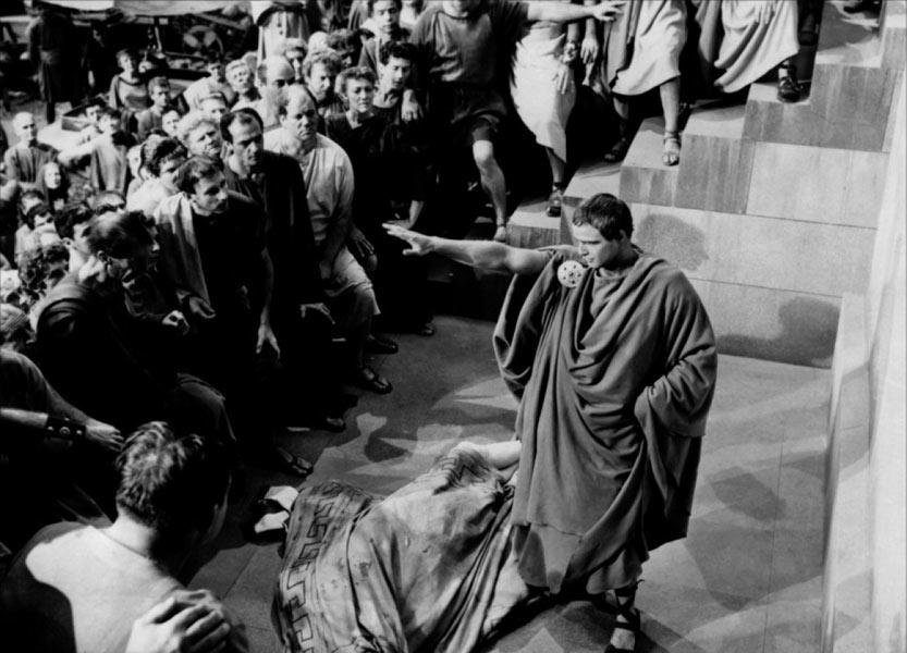 Marlon Brando dans Jules César