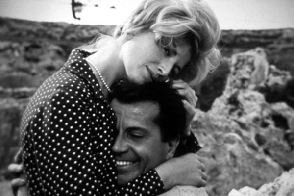 Gabriele Ferzetti, Monica Vitti dans L'avventura