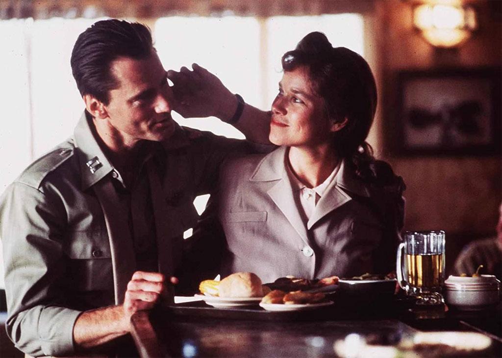 Sam Shepard, Barbara Hershey dans L'Etoffe des héros