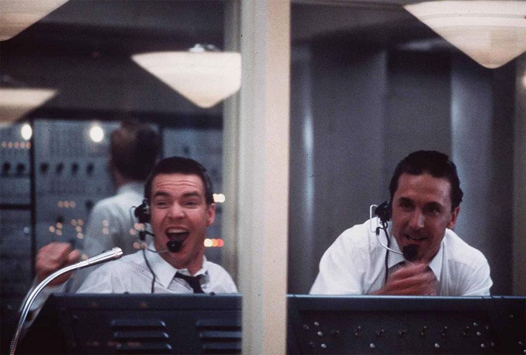 Dennis Quaid, Scott Paulin dans L'Etoffe des héros