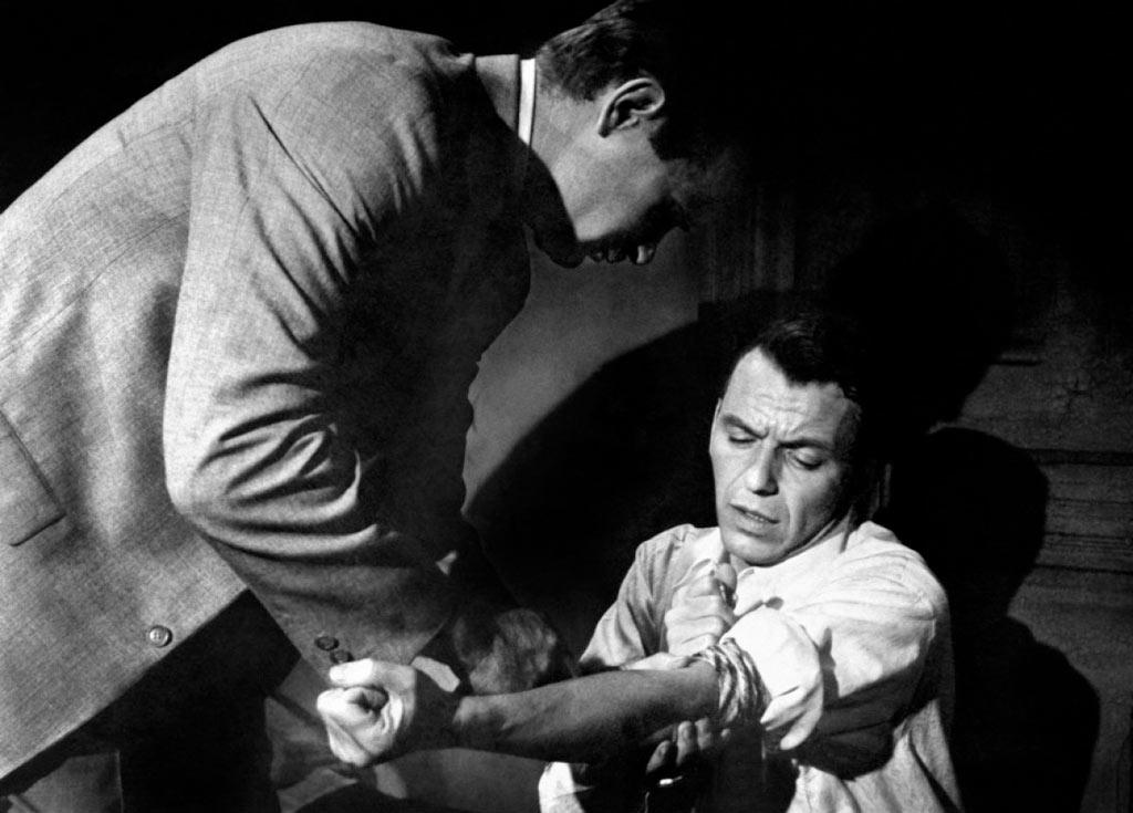 Frank Sinatra dans L'Homme au bras d'or