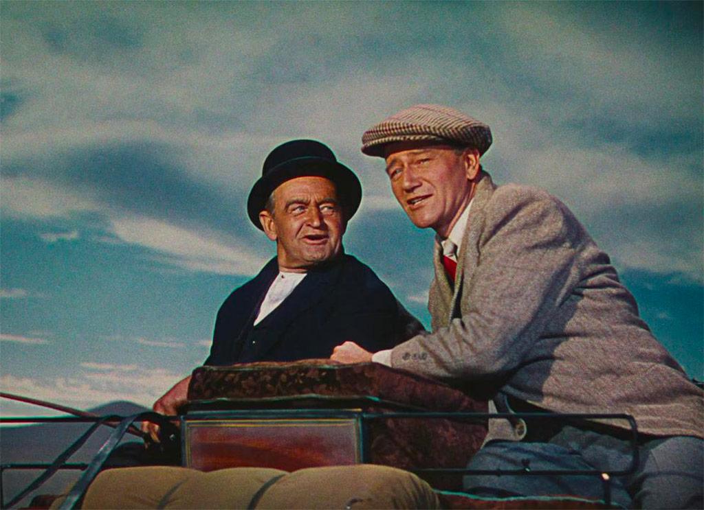 John Wayne, Barry Fitzgerald dans L'Homme tranquille