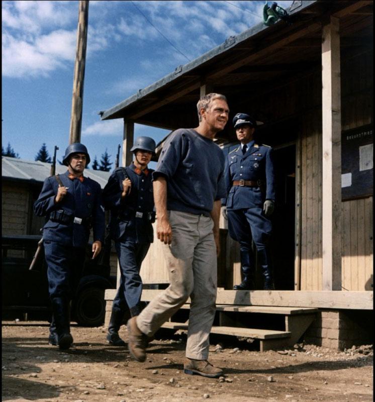 Steve McQueen dans la grande évasion