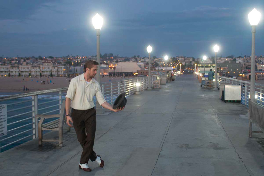 Ryan Gosling, Emma Stone dans La La Land