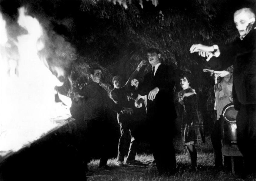 S. William Hinzman dans La Nuit des morts-vivants
