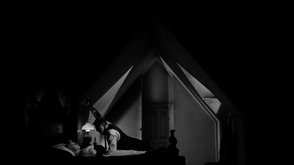 Robert Mitchum, Shelley Winters dans La Nuit du chasseur