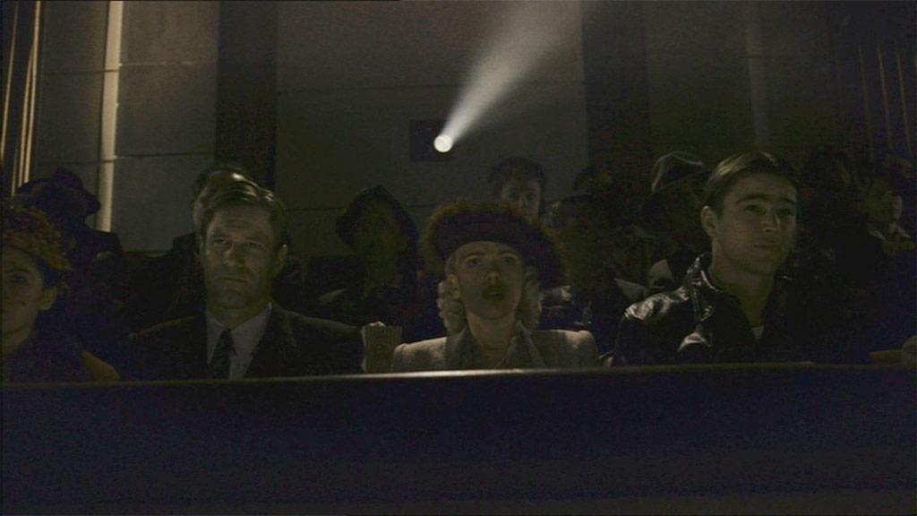 Aaron Eckhart, Scarlett Johansson et Josh Hartnett dans Le Dahlia noir (The Black Dahlia)
