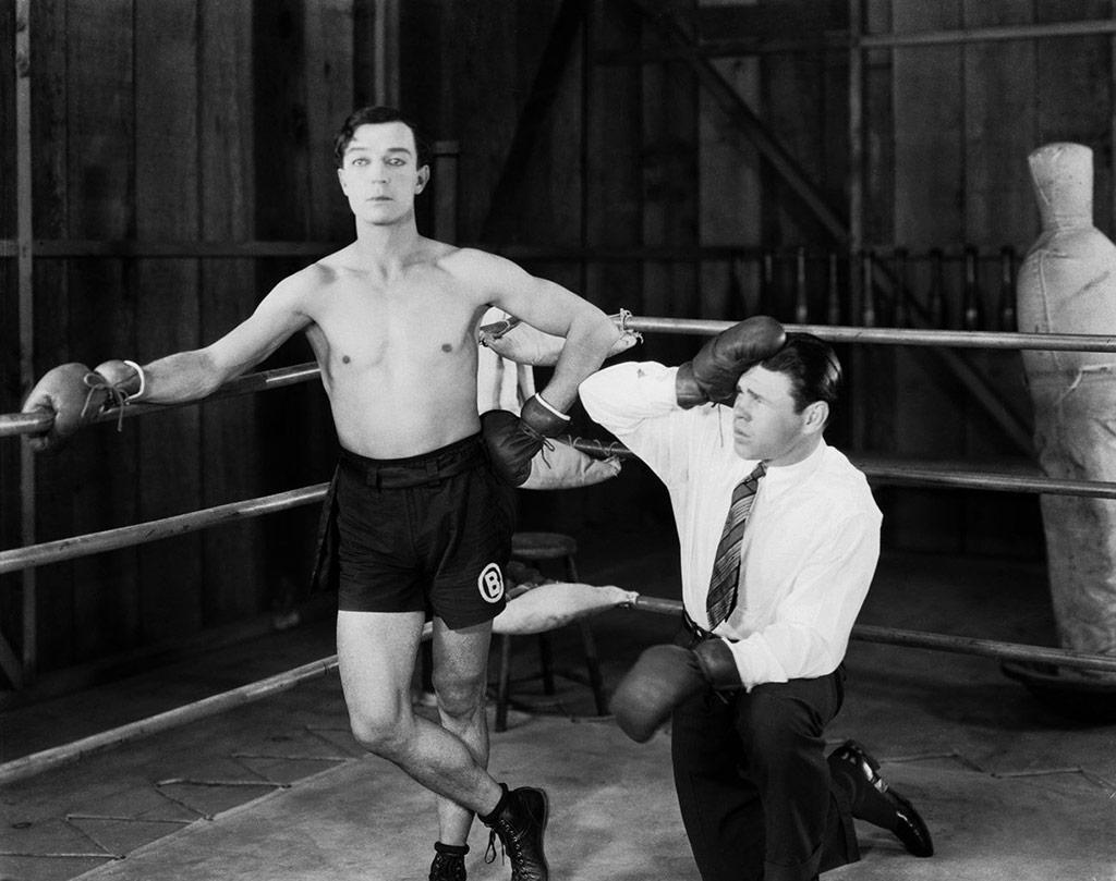 Buster Keaton dans Le Dernier round