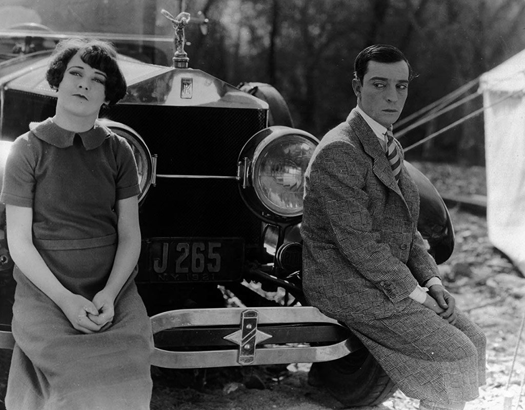 Buster Keaton, Sally O'Neil dans Le Dernier round