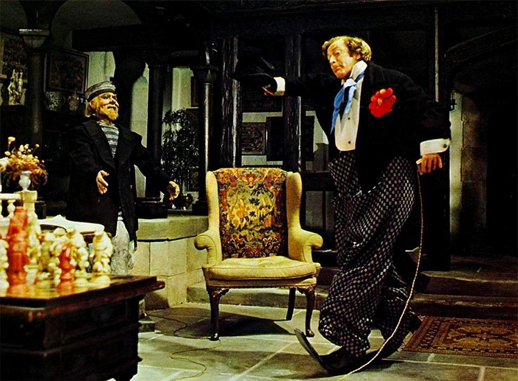 Michael Caine dans Le Limier