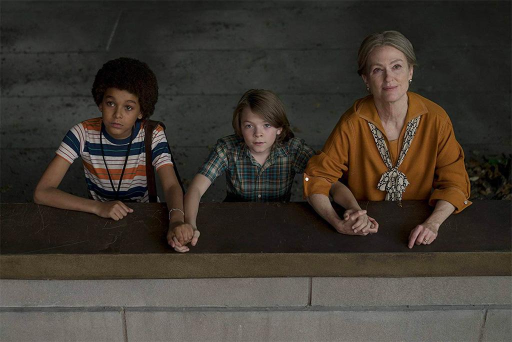 Julianne Moore, Jaden Michael, Oakes Fegley dans Le Musée des merveilles
