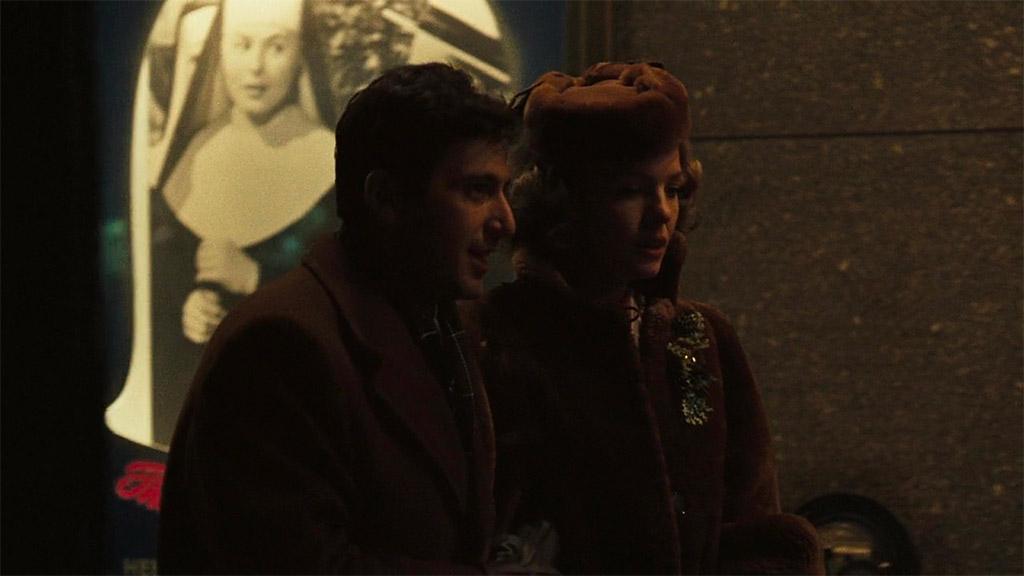 Al Pacino, Diane Keaton dans Le Parrain