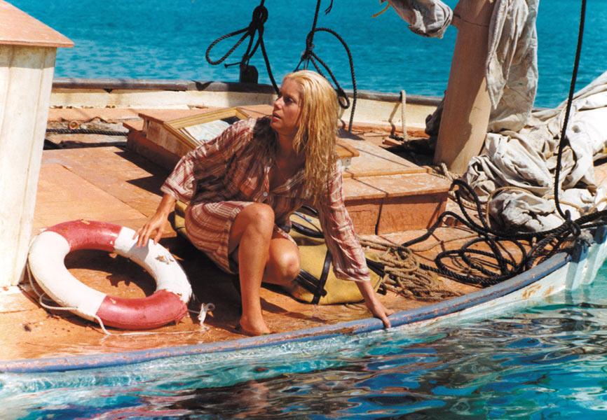 Yves Montand, Catherine Deneuve dans Le Sauvage
