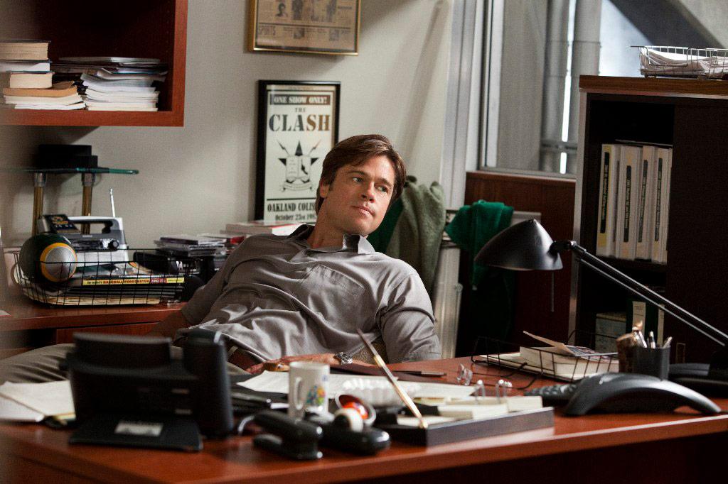 Brad Pitt dans Le Stratège