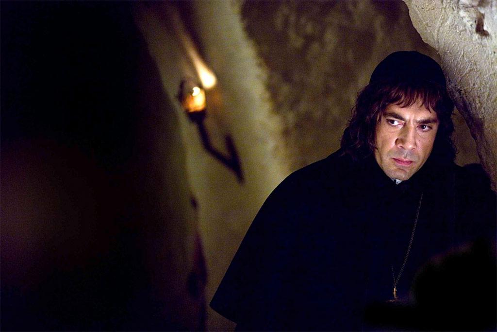 Javier Bardem dans Les Fantômes de Goya