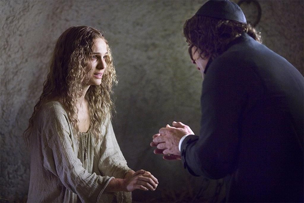 Natalie Portman, Javier Bardem dans Les Fantômes de Goya
