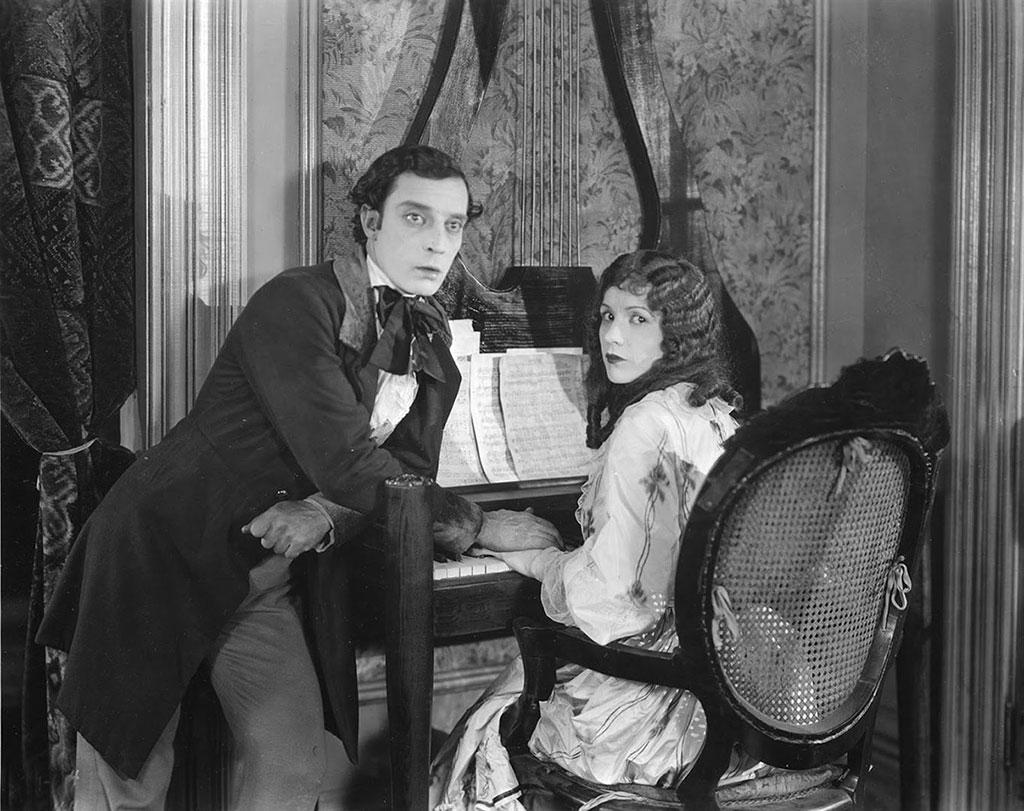 Buster Keaton; Natalie Talmadge dans Les Lois de l'hospitalité