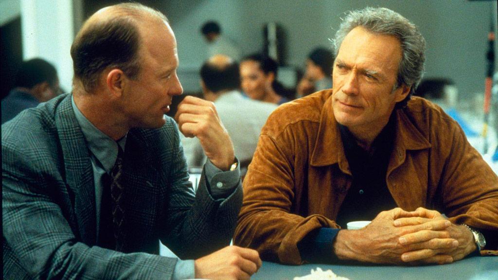 Ed Harris, Clint Eastwood dans Les Pleins pouvoirs