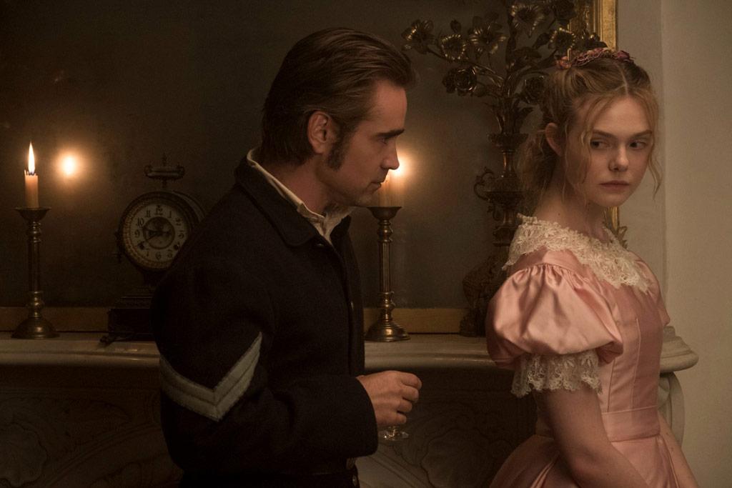 Elle Fanning, Colin Farrell dans Les Proies