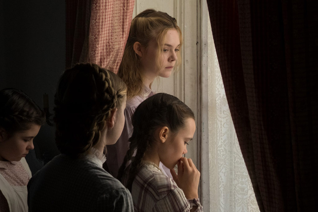 Elle Fanning, Angourie Rice, Oona Laurence, Addison Riecke dans Les Proies