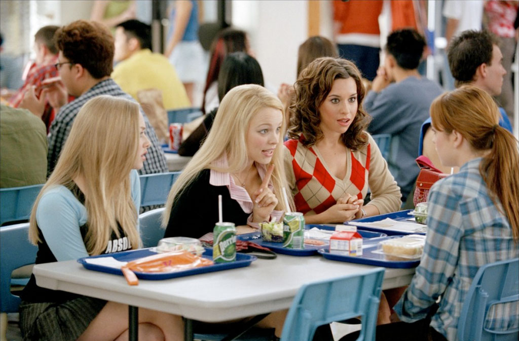 Lindsay Lohan, Rachel McAdams, Amanda Seyfried, Lacey Chabert dans Lolita malgré moi