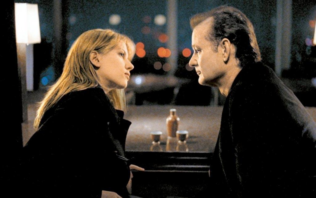 Bill Murray, Scarlett Johansson dans Lost in translation