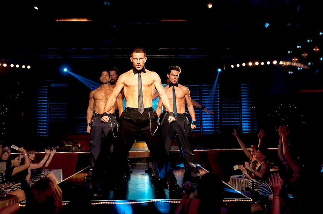 Adam Rodriguez, Channing Tatum, Matt Bomer dans Magic Mike