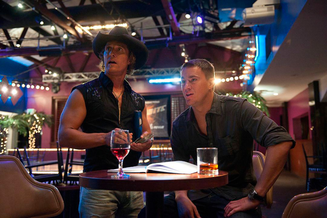 Matthew McConaughey, Channing Tatum dans Magic Mike